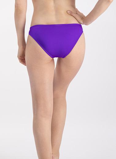Arnetta  Mor Slip Bikini Altı Mor